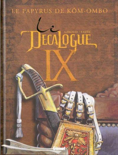 Couverture de Le décalogue -9- Le papyrus de Kôm-Ombo