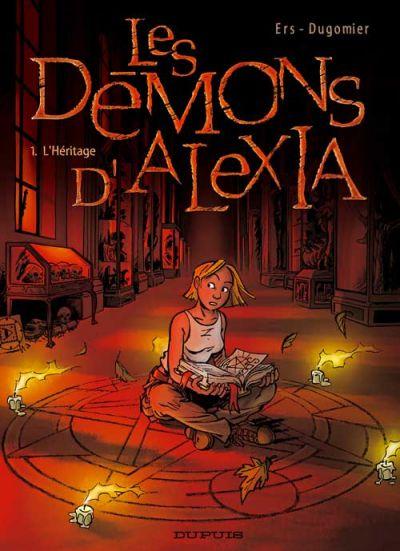 Couverture de Les démons d'Alexia -1- L'Héritage