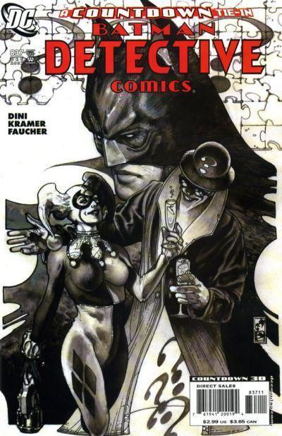 Couverture de Detective Comics (1937) -837- Honor among thieves