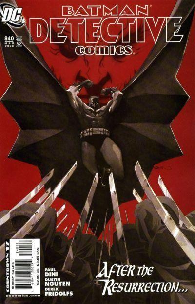 Couverture de Detective Comics (1937) -840- The Resurrection of Ra's al Ghul: Epilogue