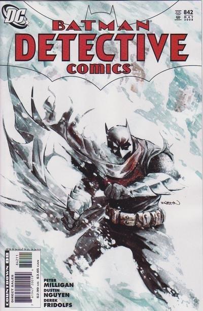 Couverture de Detective Comics (1937) -842- Suit of Sorrows