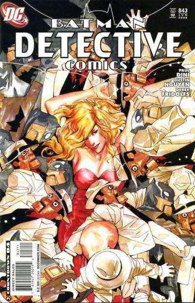 Couverture de Detective Comics (1937) -843- Opening night