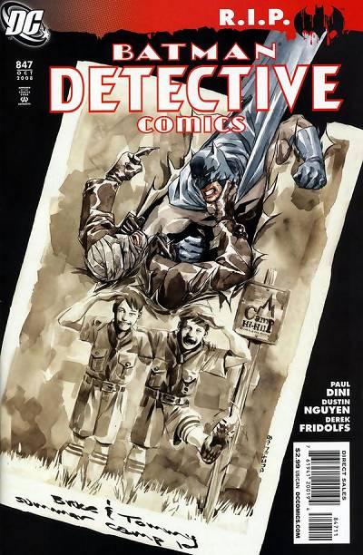 Couverture de Detective Comics Vol 1 (1937) -847- Heart of Hush (Part 2) : The last good day