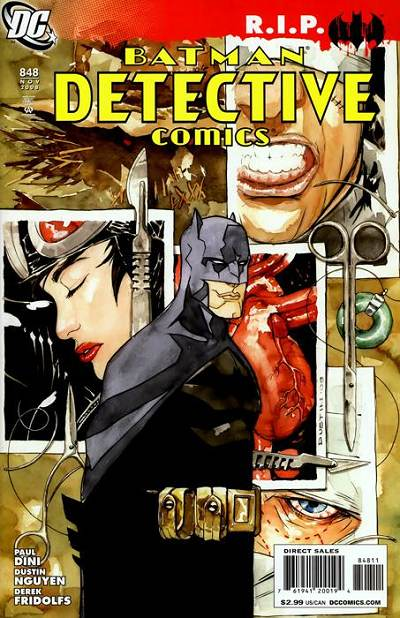 Couverture de Detective Comics (1937) -848- Heart of Hush (Part 3) : Heartstrings