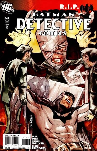 Couverture de Detective Comics (1937) -849- Heart of Hush (Part 4) : Scars