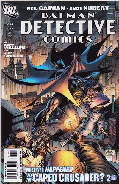 Couverture de Detective Comics Vol 1 (1937) -853- Whatever Happened To The Caped Crusader (Part 2)
