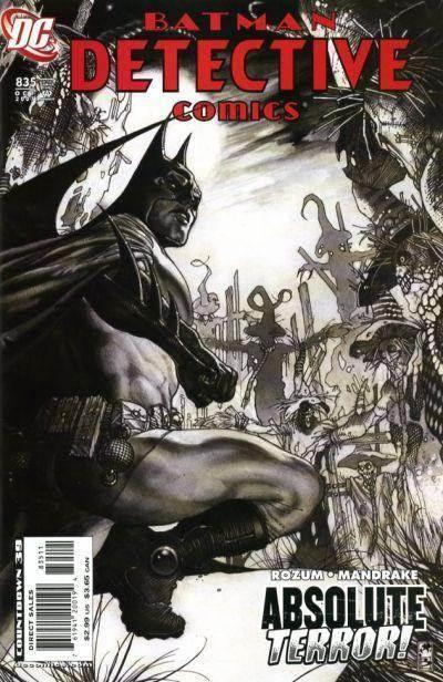 Couverture de Detective Comics (1937) -835- Absolute Terror (Part 1)
