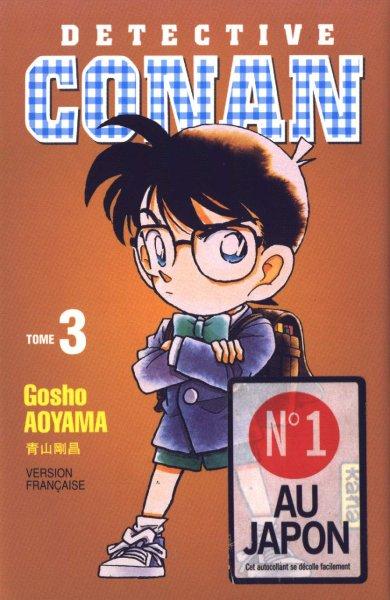 Couverture de Détective Conan -3- Tome 3