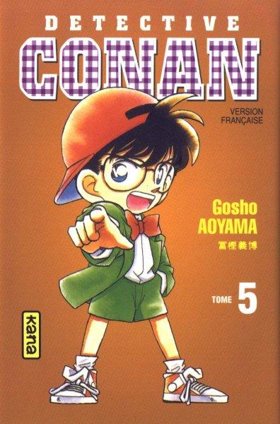 Couverture de Détective Conan -5- Tome 5