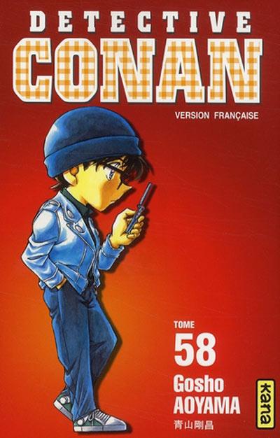 Couverture de Détective Conan -58- Tome 58