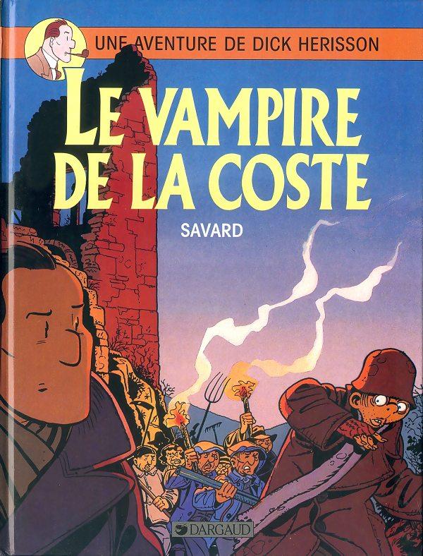 Couverture de Dick Hérisson -4- Le vampire de la coste