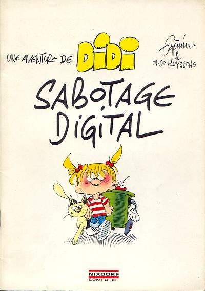 Couverture de Didi (Une aventure de) (De Kuyssche/Jannin) -3- Sabotage digital