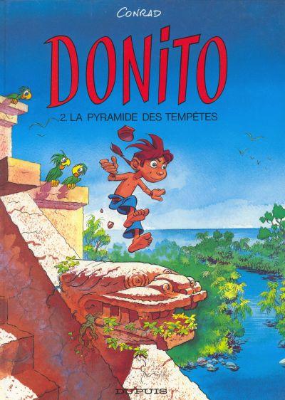 Couverture de Donito -2- La pyramide des tempêtes