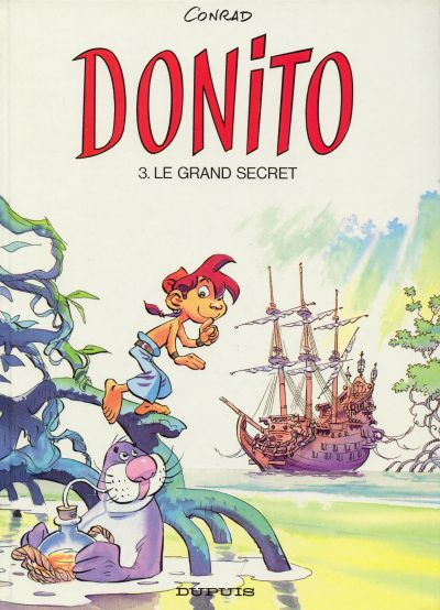 Couverture de Donito -3- Le grand secret
