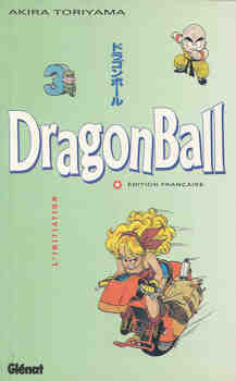 Couverture de Dragon Ball (Albums doubles de 1993 à 2000) -3- L'Initiation