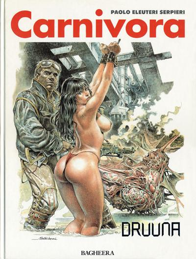 Couverture de Druuna -4- Carnivora