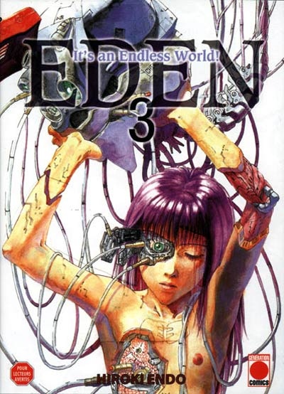 Couverture de Eden - It's an Endless World! -3- Surenchère