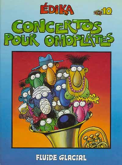 Couverture de Édika -10- Concertos pour Omoplates