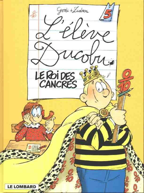 Couverture de L'Élève Ducobu -5- Le roi des cancres