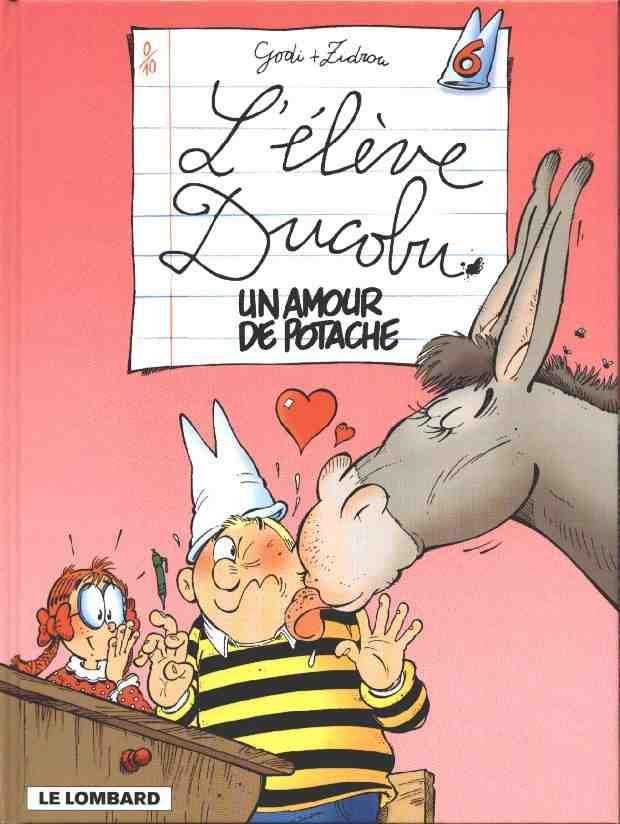 Couverture de L'Élève Ducobu -6- Un amour de potache