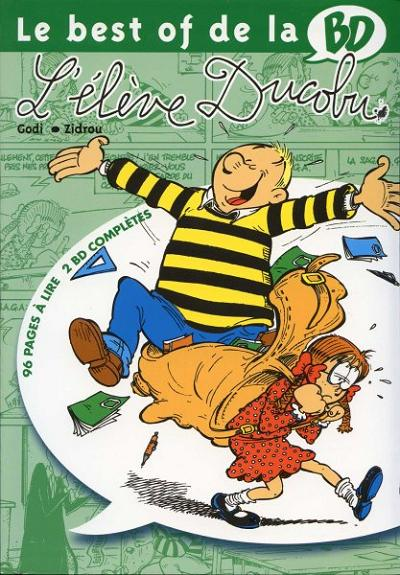 Couverture de L'Élève Ducobu -BOBD- Le best of de la BD - 8