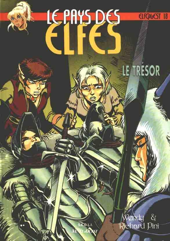 Couverture de ElfQuest (Le pays des elfes) -18- Le trésor