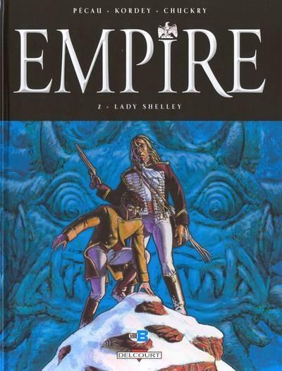Couverture de Empire (Pécau/Kordey) -2- Lady Shelley