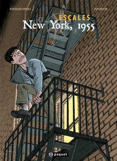 Couverture de Escales -3- New York, 1955