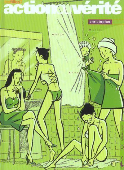 Couverture de Les filles -3- Action ou vérité