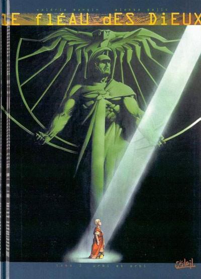 Couverture de Le fléau des dieux -3- Urbi et Orbi