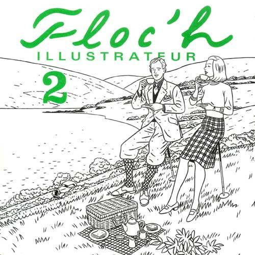 Couverture de (AUT) Floc'h, Jean-Claude -3- Floc'h illustrateur 2