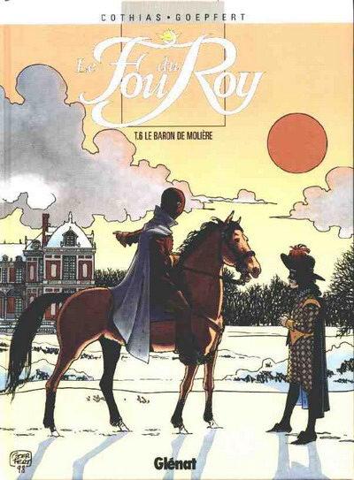 Couverture de Le fou du Roy -6- Le baron de Molière