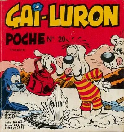 Couverture de Gai-Luron (Poche) -20- Un dessin à dessein