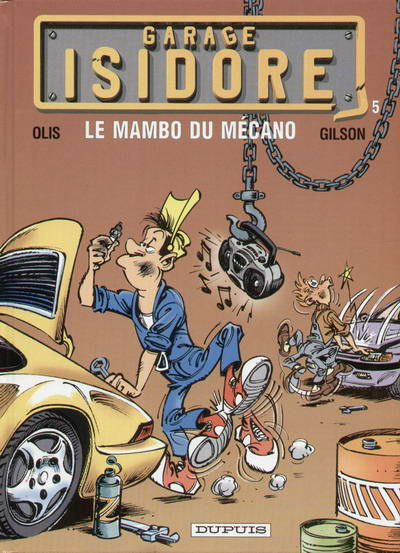 Couverture de Garage Isidore -5- Le mambo du mécano