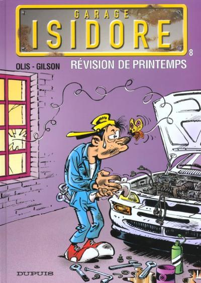 Couverture de Garage Isidore -8- Révision de printemps