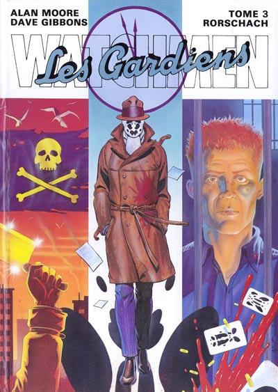 Couverture de Watchmen (Les Gardiens) -3- Rorschach