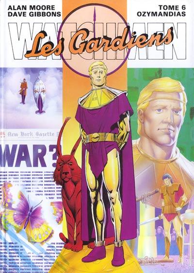 Couverture de Watchmen (Les Gardiens) -6- Ozymandias