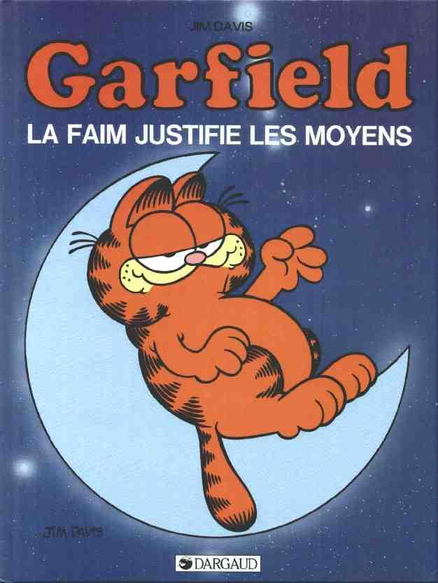 Couverture de Garfield -4- La faim justifie les moyens