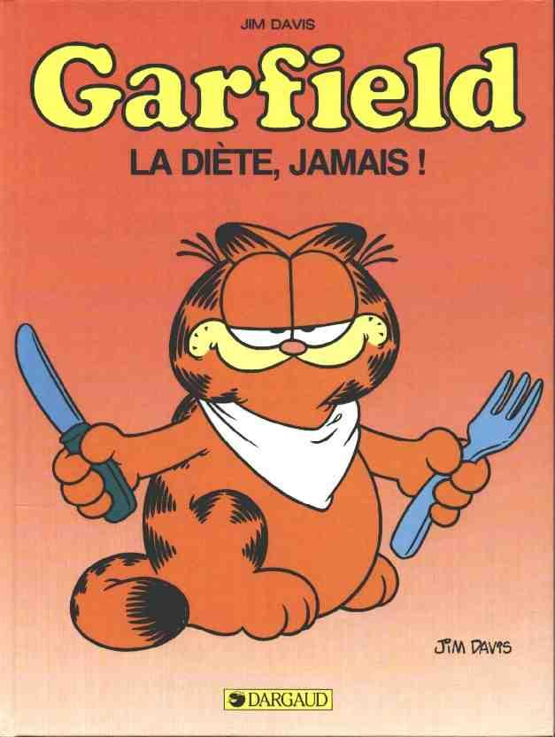 Couverture de Garfield -7- La diète, jamais !