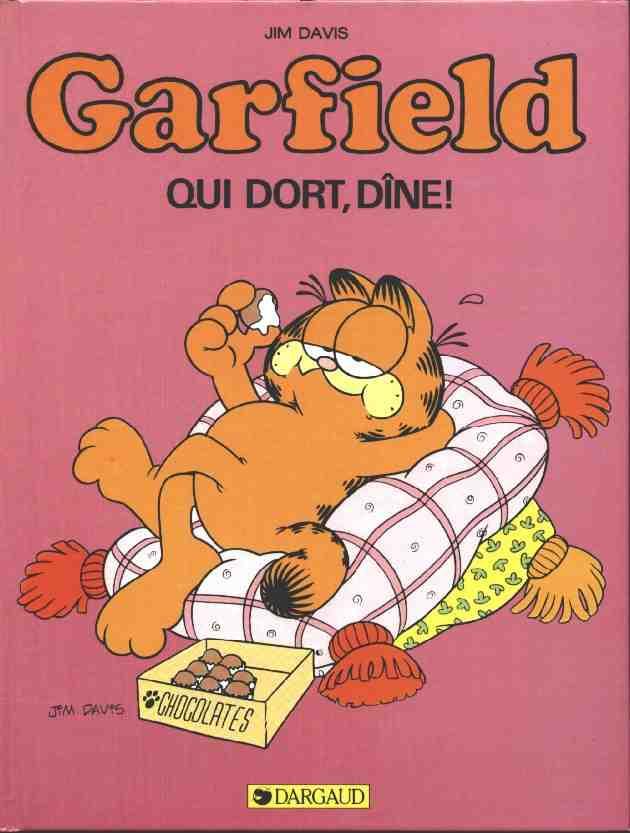 Couverture de Garfield -8- Qui dort, dîne !