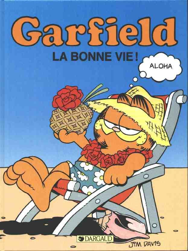 Couverture de Garfield -9- La bonne vie !