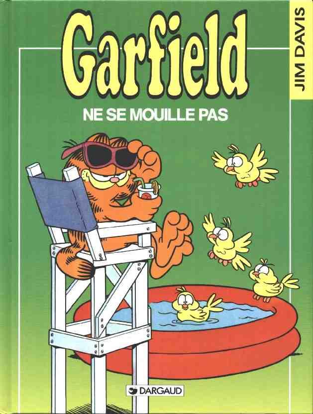 Couverture de Garfield -20- Garfield ne se mouille pas