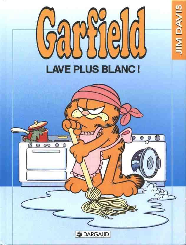 Couverture de Garfield -14- Lave plus blanc !
