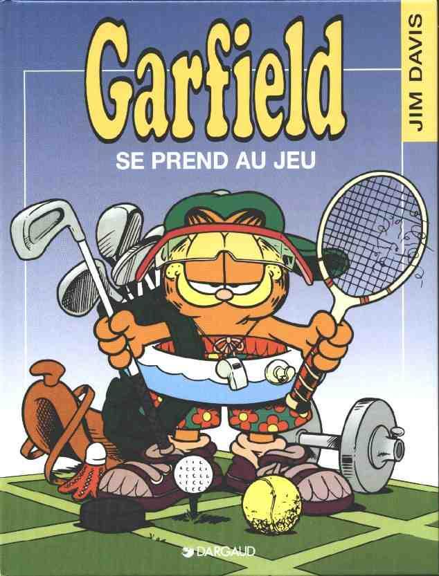 Couverture de Garfield -24- Garfield se prend au jeu