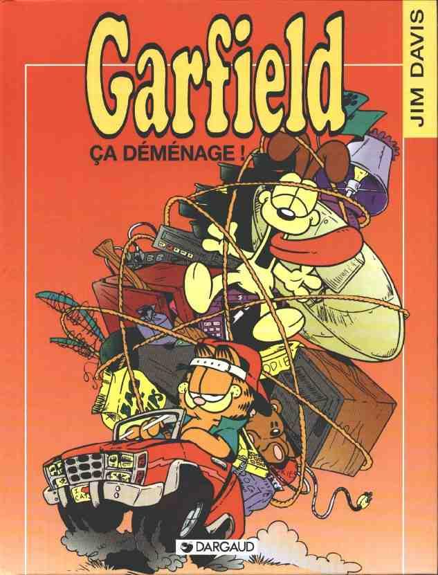 Couverture de Garfield -26- Ca déménage !