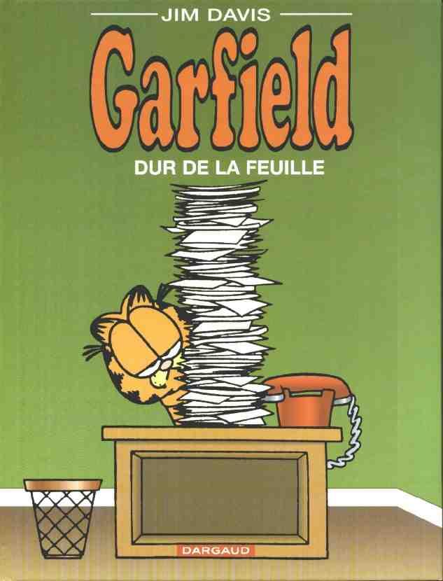 Couverture de Garfield -30- Dur de la feuille