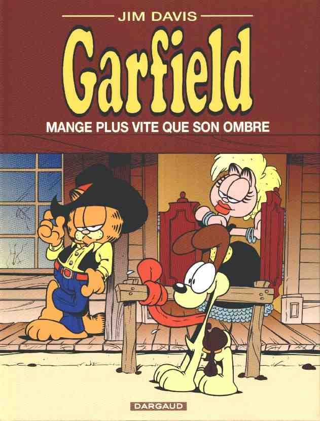 Couverture de Garfield -34- Garfield mange plus vite que son ombre