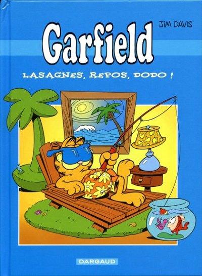 Couverture de Garfield -Total1- Lasagnes, repos, dodo !