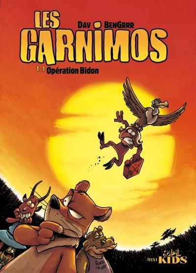 Couverture de Les garnimos -1- Opération bidon