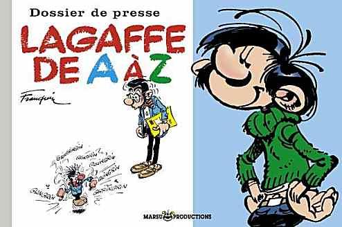 Couverture de Gaston (Hors-série) -DP- Lagaffe de A à Z
